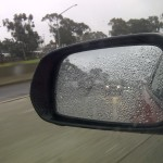 rain on the freeway