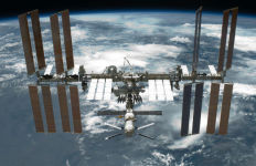 The International Space Station in 2011. NASA photo.
