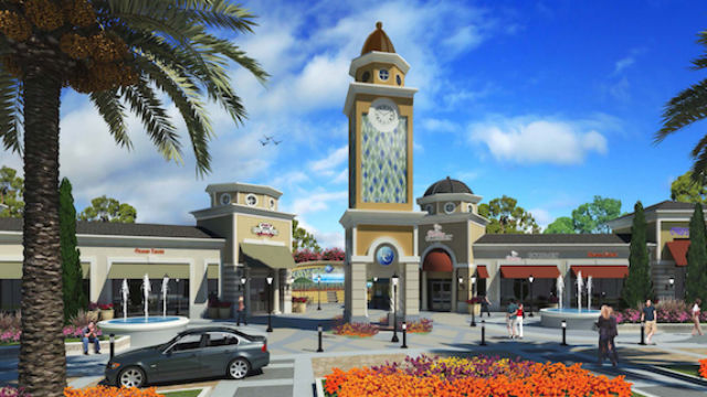 Architectural rendering of La Costa Town Square. Courtesy Property Development Centers