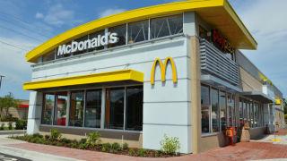 A McDonald's restaurant. Courtesy of the company