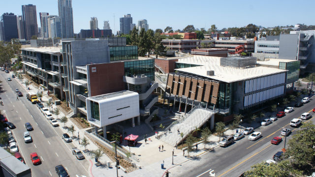 New Arts and Humanities, Business and Technology buildings on the City College campus in the East Village. Photo courtesy of City College