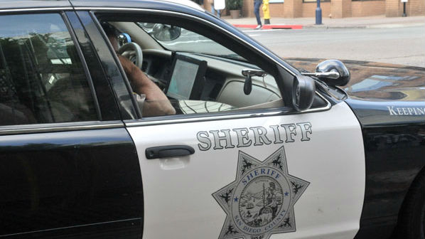 A San Diego County Sheriff's Cruiser. Photo by Chris Stone