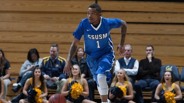 CSUSM senior point guard Blake Nash leads the Cougars with 24.5 points-per-game. Photo Credit: Michael Pimentel.