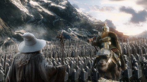 The Hobbit: The Battle of the Five Armies.