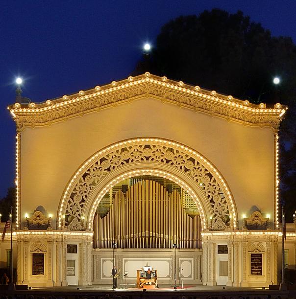 Spreckels Organ Pavillion