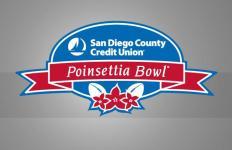 Poinsettia Bowl logo. Courtesy of byucougars.com