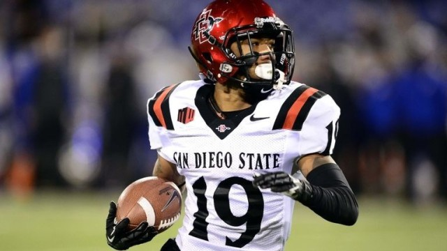 SDSU junior running back Donnel Pumphrey is returning for his senior season. Courtesy of surfturfandmurph.com
