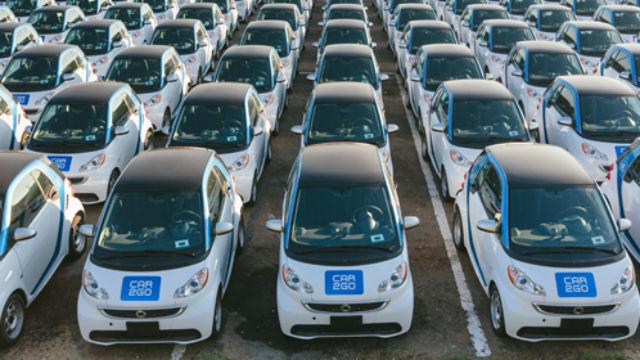 New electric cars for car2go's San Diego fleet. Courtesy car2go