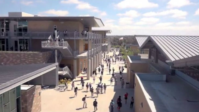 Carlsbad High School. Image from school video