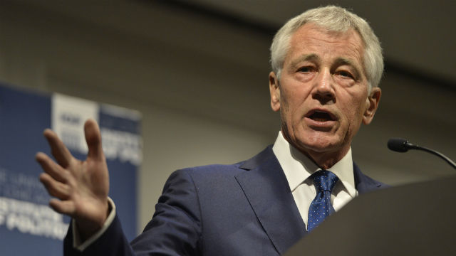 Defense Secretary Chuck Hagel. Photo courtesy Defense Department