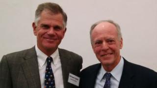 David Copley, left, and Robert Price.