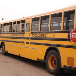 Sweetwater Union High School District school bus.