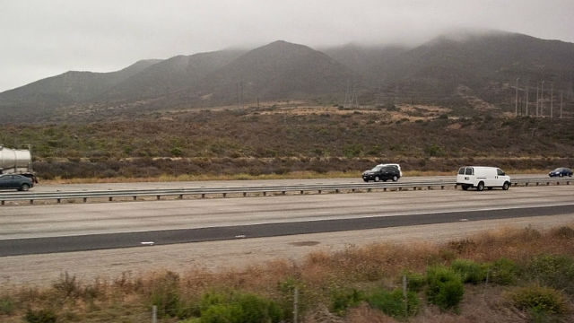 A section of Interstate 5 through Camp Pendleton. Photo by Downtowngal via Wikimedia Commons