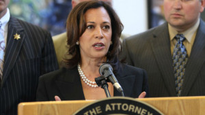 California Attorney General Kamala Harris announces a statewide gun sweep. Photo courtesy of the Attorney General's office