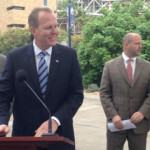 Kevin Faulconer announcing the Chargers Stadium task force
