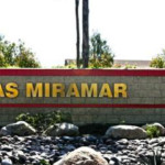 Entrance to Marine Corps Air Station Miramar