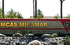 The entrance to Marine Corps Air Station Miramar. Marine Corps photo