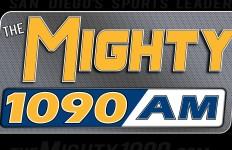 The Mighty 1090 logo. Courtesy of sandiegoradio.org