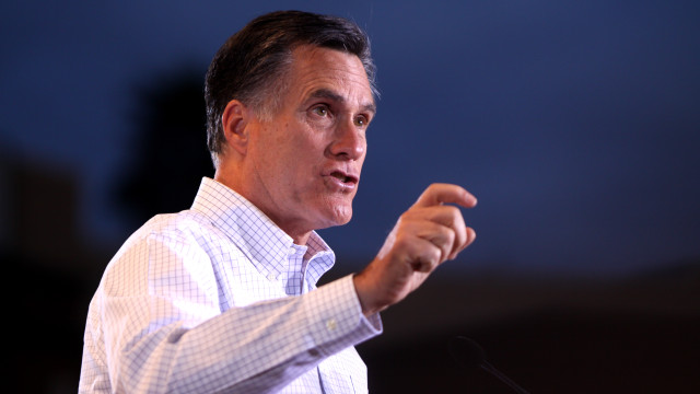 Mitt Romney. Photo via Wikimedia Commons