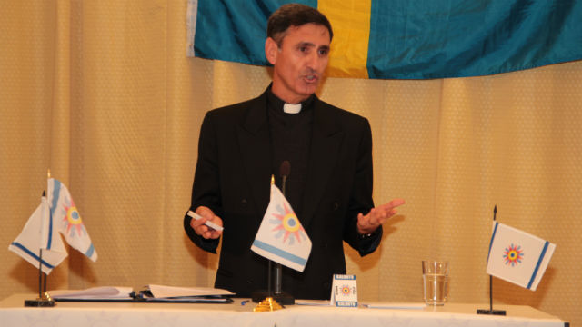 Father Noel Gorgis of El Cajon. Photo courtesy of the Chaldean Catholic Diocese of St. Peter the Apostle