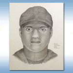 Ocean Beach burglaries suspect sketch