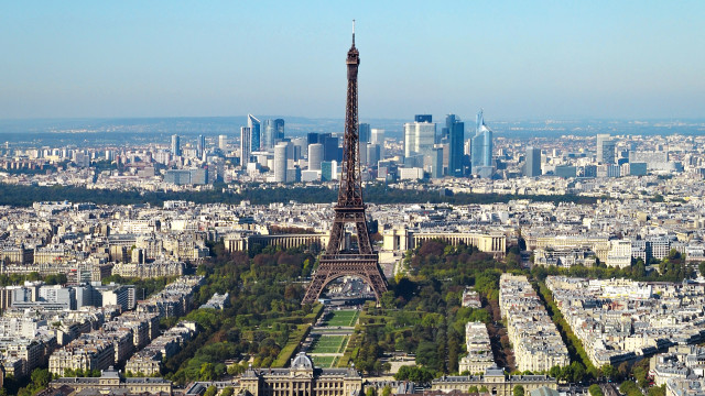 The city of Paris, France. Courtesy of Wikipedia.org