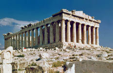 The Parthenon in Athens. Photo by Steve Swayne via Wikimedia Commons