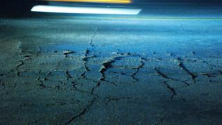 Pothole on Comstock Street in Linda Vista. Photo credit: Alexander Nguyen