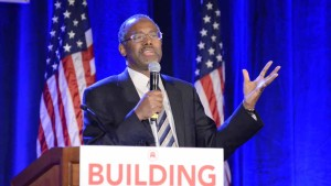 Dr. Ben Carson speaks to national GOP at their winter meeting in Coronado.