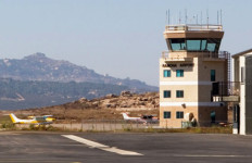 The tower at the Ramona airport. Courtesy County News Center