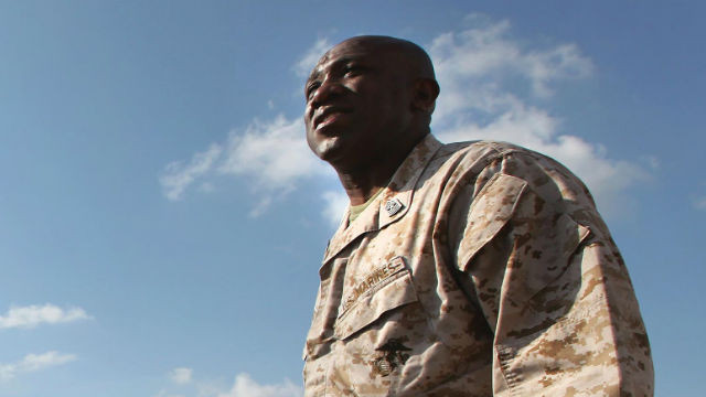 Sergeant-Major Ronald L. Green in a 2011 photo. Courtesy Marine Corps