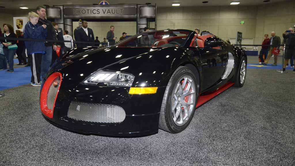Priciest Ride At Auto Show M Isnt For Lamborghini Or Rolls - San diego international car show