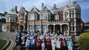 Each year, Francis attends a reunion at Bletchley Park, honoring WWII workers in the decoding project.