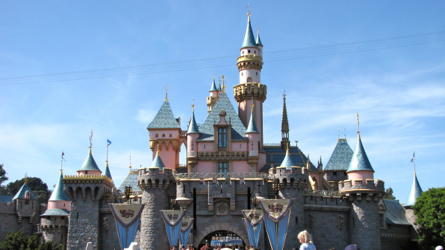 Sleeping Beauty's Castle at Disneyland. Courtesy of Wikipedia.org