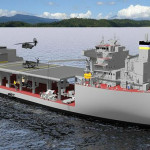 USNS Lewis B. Puller - artist's conception