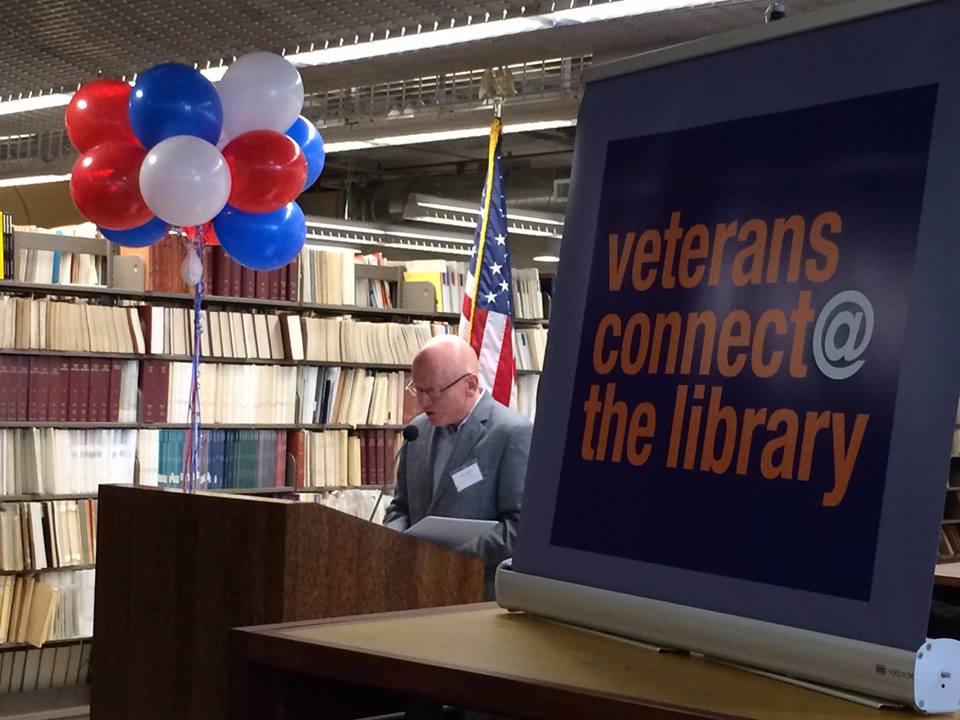 Veterans Village at Library