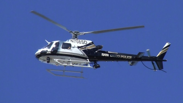 San Diego Police helicopter