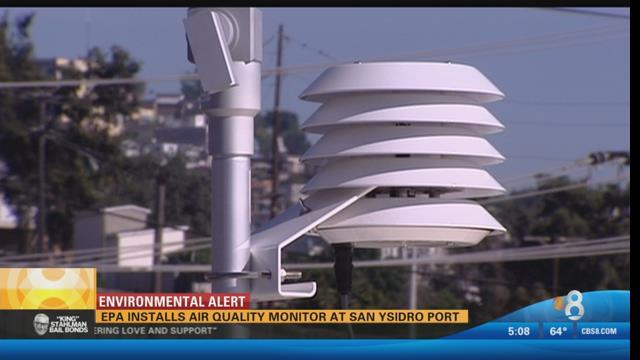 Air Pollution monitor San Ysidro