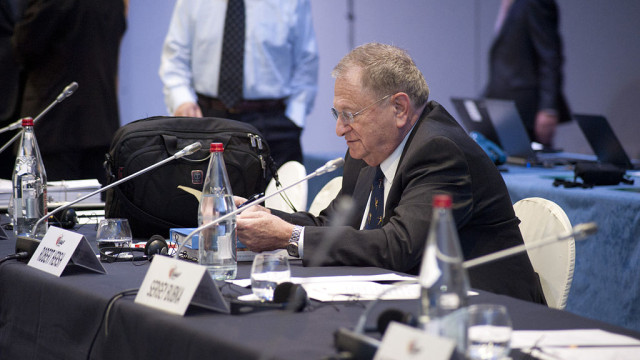 IAAF Vice President Bob Hersh. Photo via Wikimedia Commons