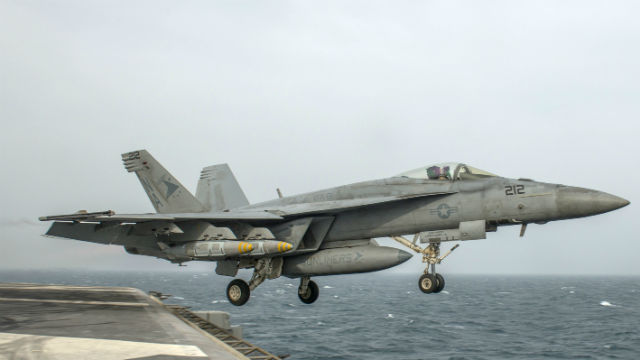 Navy Continues To Hit Islamic State Terrorists In Iraq