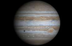 Jupiter as seen by the Cassini spacecraft on its way to Saturn. NASA photo