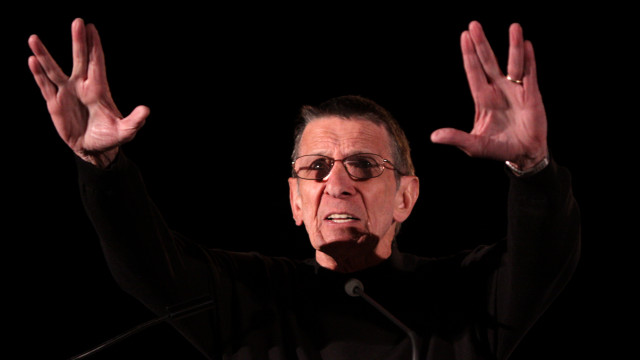 Leonard Nimoy. Courtesy of Wikimedia Commons.
