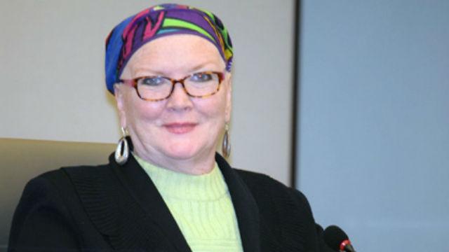 San Diego City Councilwoman Marti Emerald at Metropolitan Transit System board meeting on Feb. 12.