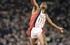 Mike Powell set the still-standing world record in the long jump at the 1991 IAAF World Championships in Tokyo. Image via iaaf.org