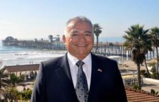 Rocky Chavez near the Oceanside Pier. Campaign photo