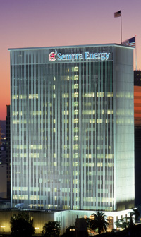 The Sempra Energy building in downtown San Diego. Courtesy Sempra