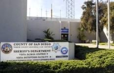 The San Diego County Sheriff's Vista Station.