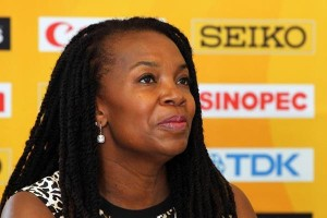 USATF President Stephanie Hightower. Image via iaaf.org