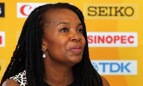 Former USATF President Stephanie Hightower.
