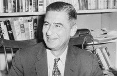 Theodore Geisel, the famed author and illustrator Dr. Seuss. Photo by Al Ravenna via Wikimedia Commons